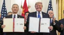 Trump signs US-China 'phase-one' trade deal