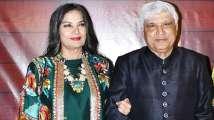Car carrying Shabana Azmi, Javed Akhtar meets with accident on Mumbai-...