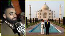 The tour guide who accompanied the Trumps in their Taj Mahal visit