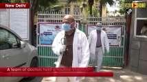 Doctors holds routine checkup of Hazrat Nizamuddin police station staff