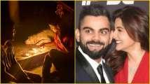 'Pray for every being': Virat Kohli, Anushka Sharma light di...