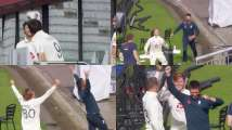 ENG vs PAK: England cricketers pull-off stunning football 'bin ch...