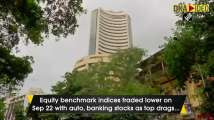 Sensex tumbles 300 points as COVID cases rise, auto and banking stocks crac...