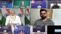 PM Modi Virat Kohli