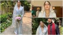 Breaking barriers of bridal fashion, desi bride Sanjana Rishi ditches...