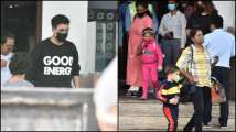 Photos: Karan Johar says 'Good Energy' only with his T-Shirt as h...