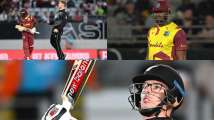 New Zealand vs West Indies, 1st T20 Auckland In Pics: Hosts overcome Kieron...