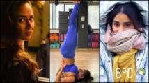 Photos of the Day: Malaika Arora performs Sarvangasana, Mira Rajput is Shah...