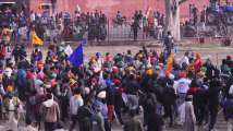 'Anti-social elements' infiltrated our peaceful protest, say...
