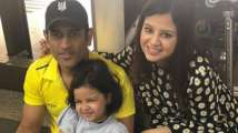 From dancing to farming, a look at MS Dhoni's precious family moments...