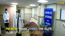 PM Narendra Modi joins world leaders who took COVID vaccine shot to boost...