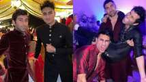 Ibrahim Ali Khan parties hard at Captain Amarinder Singh's grandd...