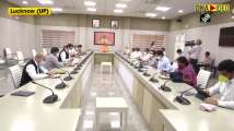 CM Yogi chairs meeting with COVID-19 management Team-11 after highest singl...