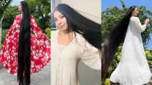 Meet woman with 6-feet long locks, who has not cut her hair since 2005