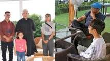 Aamir Khan-Kiran Rao meet J-K Lt Governor, son Azad joins them for tea...