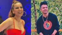 Nia Sharma looks gorgeous in sexy backless red gown, performs intimate...
