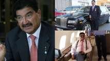 Private jet, luxury cars and Burj Khalifa floors: Inside pics from fallen b...