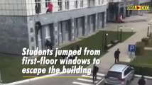 Watch: 8 People killed by gunman at university in Russia