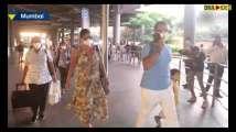 Kareena, Saif return from vacation