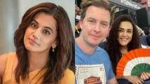 Taapsee Pannu recalls SRK's dialogue after India Vs Pakistan match, Pr...