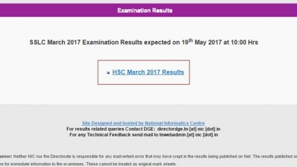 TN Board Result 2017: Latest News, Videos and Photos on TN Board