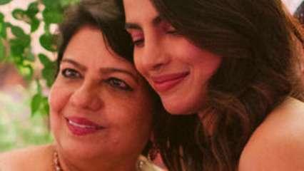 Priyanka Chopra Jonas' mom Madhu Chopra quashes the actor's pregnancy rumours, blames camera angle