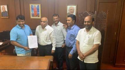 Letter to join BJP shown by MGP MLAs